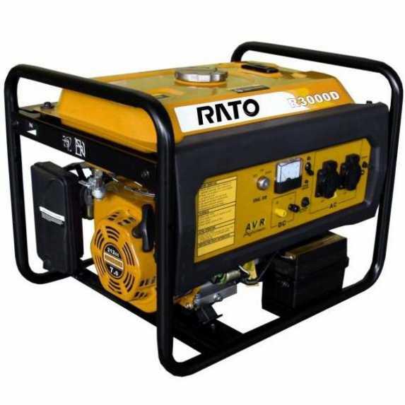 КупитьГенератор бензиновый RATO R3000E Ирпень Киев Буча Киевская область