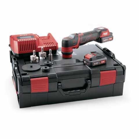 Купить Аккумуляторная бесщёточная полировальная машина FLEX PXE 80 10.8-EC/2.5 Set  Ирпень Киев Буча Киевская область