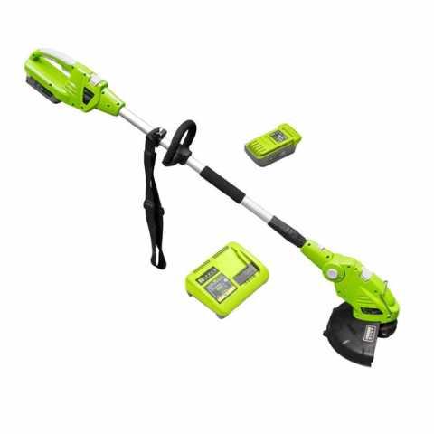 КупитьАккумуляторный триммер для травы Zipper ZI-MOS40V-AKKU Ирпень Киев Буча Киевская область