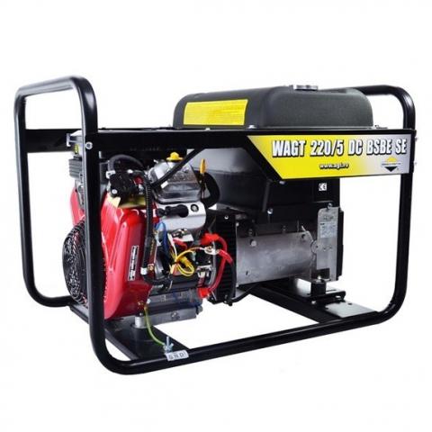 Купить Генератор бензиновый сварочный AGT WAGT 220/5 DC BSBE Ирпень Киев Буча Киевская область