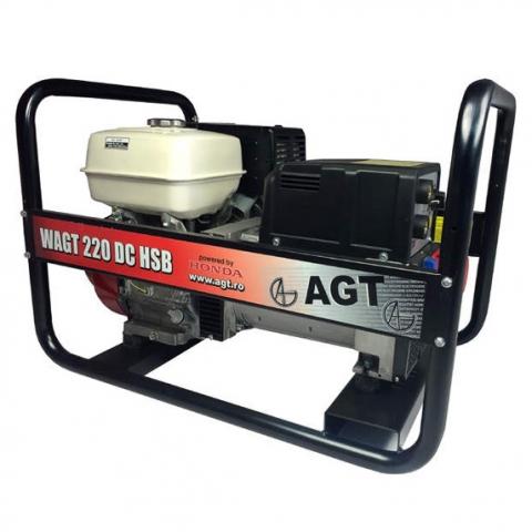 Купить Генератор бензиновый сварочный AGT WAGT 220 DC HSB Ирпень Киев Буча Киевская область