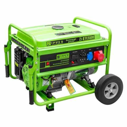 КупитьБензиновый генератор Zipper ZI-STE5500 Ирпень Киев Буча Киевская область