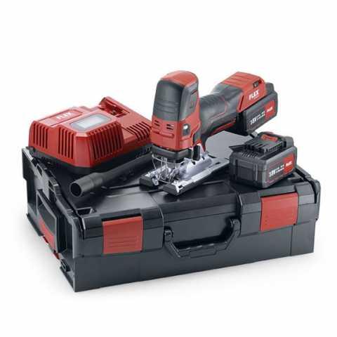 Купить Бесщёточная аккумуляторная лобзиковая пила FLEX JS 18.0-EC/5.0 Set Ирпень Киев Буча Киевская область
