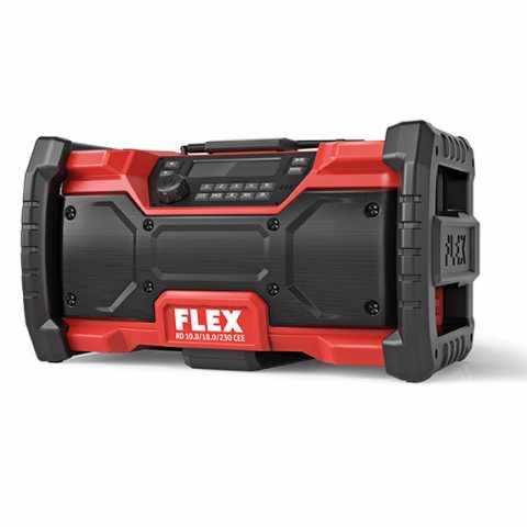 Купить Цифровое аккумуляторное строительное радио FLEX RD 10.8/18.0/230 CEE Ирпень Киев Буча Киевская область
