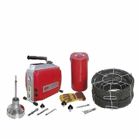 Купить Универсальная секционная прочистная машина Dali GQ-150 в интернет магазине инструментов Ирпень Буча Киев Украина