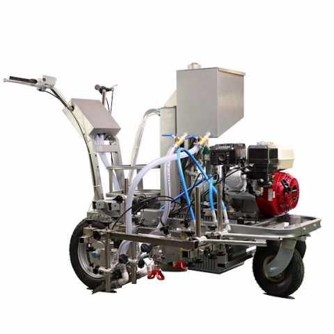 Купить Гидравлический безвоздушный аппарат для нанесения разметки Dino-power DP-LC880 в интернет магазине инструментов Ирпень, Буча, Киев, Украина