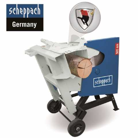 Купить Дисковая пила для брёвен Scheppach HS520 380 В (5905108902) Киев Ирпень Буча Toolmaster