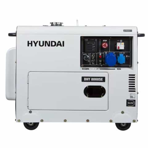 КупитьДизельный генератор Hyundai DHY 8000SE Ирпень Киев Буча Киевская область