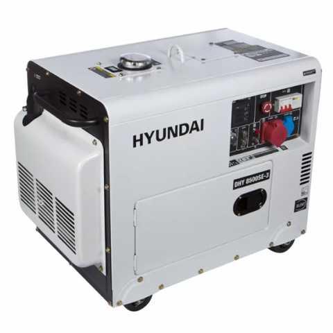 КупитьДизельный генератор Hyundai DHY 8500SE-3 Ирпень Киев Буча Киевская область
