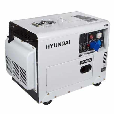 КупитьДизельный генератор Hyundai DHY 8500SE Ирпень Киев Буча Киевская область