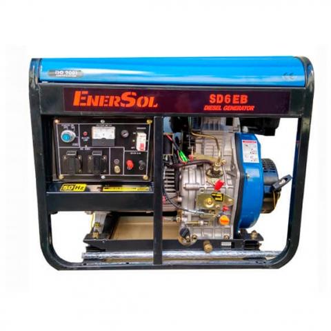 Купить Дизельный генератор однофазный 5кВА EnerSol SD-6EB Ирпень Киев Буча Киевская область