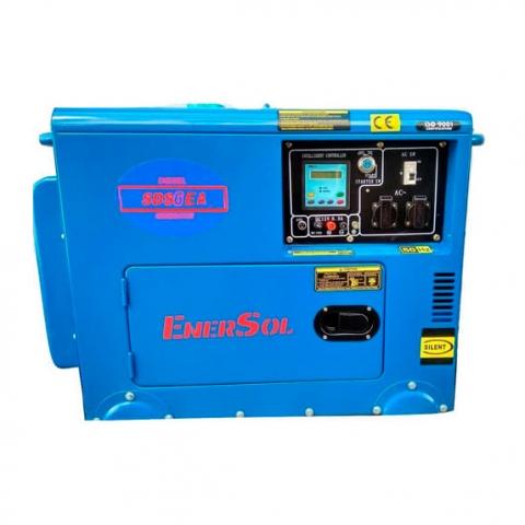 Купить Дизельный генератор однофазный 6кВА EnerSol SDS-6EA Ирпень Киев Буча Киевская область