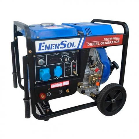 Купить Бензиновый сварочный генератор однофазный EnerSol SWD-7E Ирпень Киев Буча Киевская область