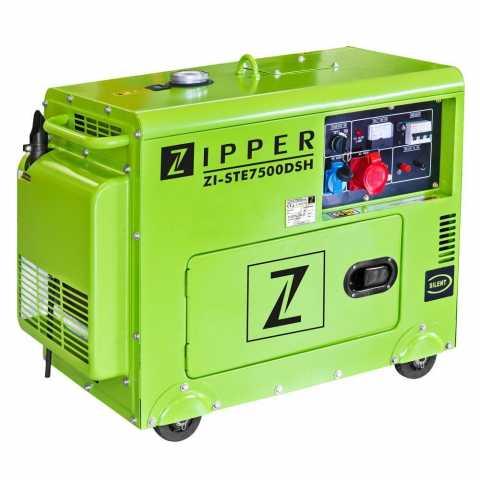 КупитьДизельный генератор Zipper ZI-STE7500DSH Ирпень Киев Буча Киевская область