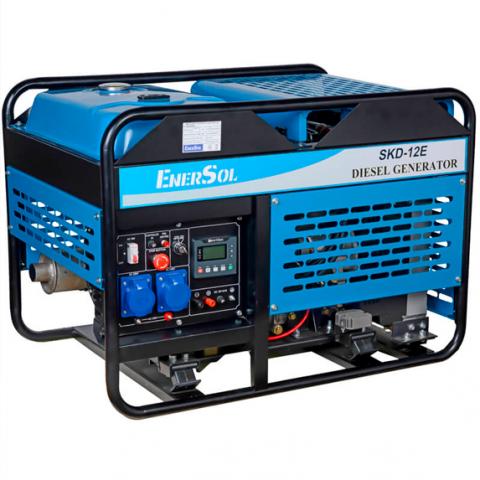 Купить Генератор дизельный EnerSol SKD-12E-3B Ирпень Киев Буча Киевская область
