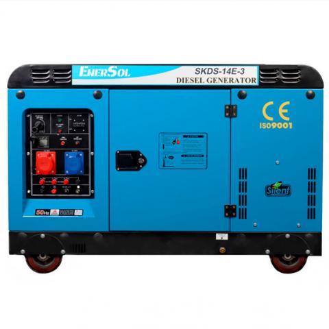 Купить Генератор дизельный EnerSol SKDS-14E-3(B) Ирпень Киев Буча Киевская область