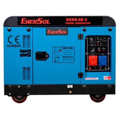 Купить Генератор дизельный EnerSol SKDS-8E-3(B) Ирпень Киев Буча Киевская область