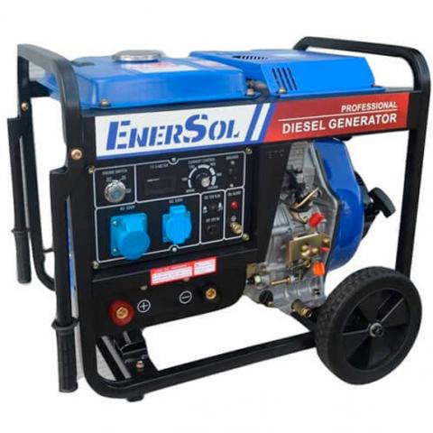 Купить Генератор дизельный EnerSol SWD-7EB Ирпень Киев Буча Киевская область