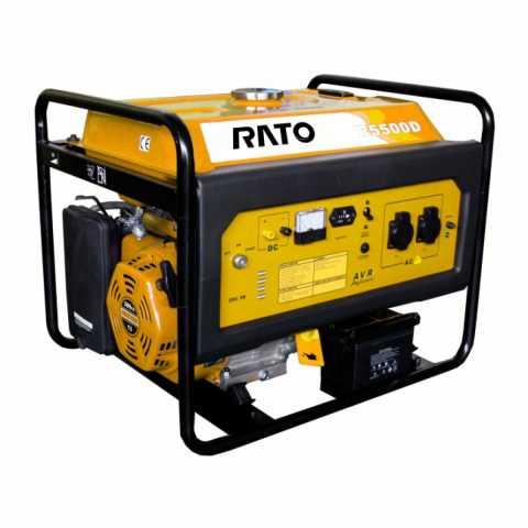 КупитьГенератор бензиновый RATO R5500D Ирпень Киев Буча Киевская область