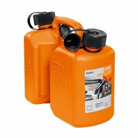 Купить Комбиканистра оранжева стандартная STIHL 5 л для топливной смеси и 3 л для цепного масла Ирпень Киев Буча Киевская область