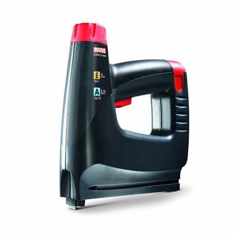 Купить Степлер пневматический NOVUS J-214 Akku LI ION в интернет магазине инструментов Ирпень Буча Киев Украина