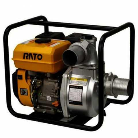 Мотопомпа RATO RT80ZB28-3.6Q. Магазин инструмента Киев Ирпень Буча Toolmaster