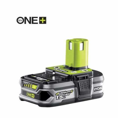 Купить Литий-ионный аккумулятор 18 вольт 1.5 Ач Ryobi One+ RB18L13 в интернет магазине инструментов Ирпень Буча Киев Украина