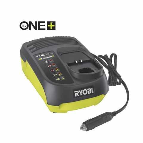 Купить RYOBI 18В ONE+ зарядное устройство RC18118C с питанием от автомобильной сети в интернет магазине инструментов Ирпень Буча Киев Украина