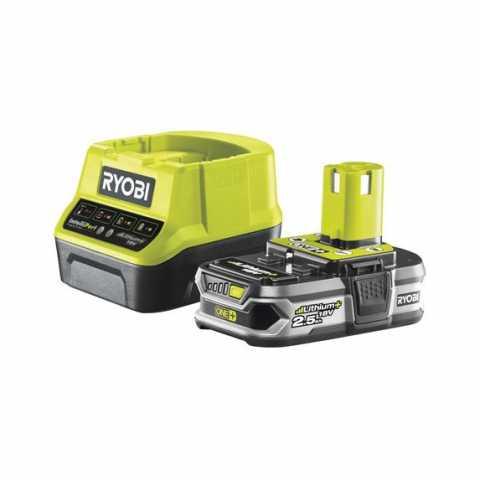 Купить Ryobi RC18120-125 18В набор из аккумулятора (1ˣ2.5Ач) и зарядного устройства и зарядного устройства в интернет магазине инструментов Ирпень Буча Киев Украина