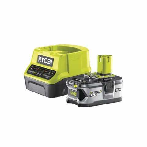 Купить Ryobi RC18120-140 18В набор из аккумулятора (1ˣ4.0Ач) и зарядного устройства и зарядного устройства в интернет магазине инструментов Ирпень Буча Киев Украина