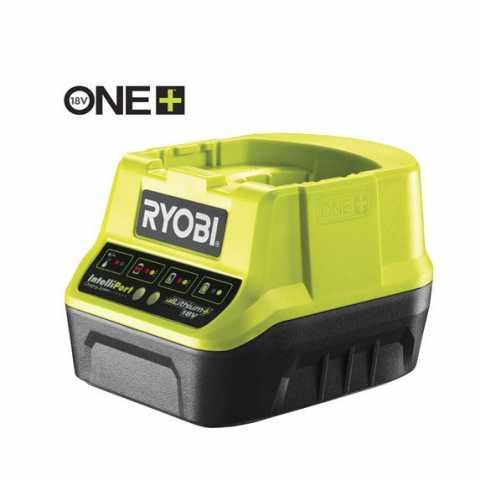 Купить RYOBI 18В ONE+ компактное зарядное устройство  RC18120 в интернет магазине инструментов Ирпень Буча Киев Украина