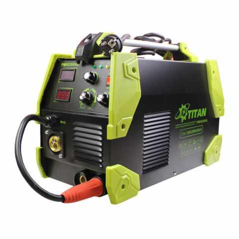 Купить Сварочный инверторный полуавтомат 3 в 1 TITAN PMIG260A / PMIG260AL Украина