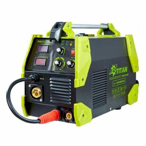Купить Сварочный инверторный полуавтомат 3 в 1 TITAN PMIG320A / PMIG320AL Украина