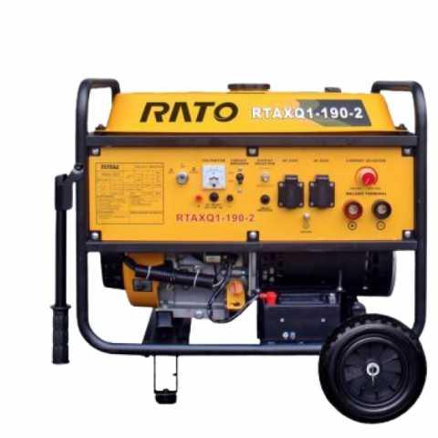 Купить Сварочный генератор RATO RTAXQ1-190-2 3,5 кВт Киев Ирпень Буча Toolmaster